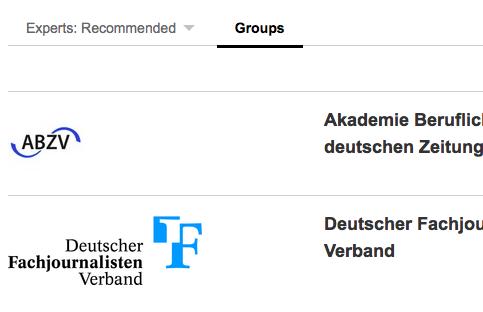 recherche groups