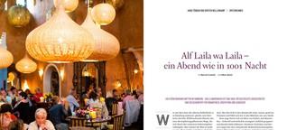 Alf Laila wa Laila - ein Abend wie in 1001 Nacht