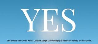 Papst Franziskus : Und wieder kommt die Hand Gottes aus Argentinien