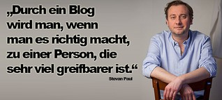 Interview mit Stevan Paul bei LousyPennies.de