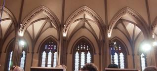Finanzkrise füllt die Kirchen an der Wall Street