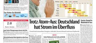 Deutschland hat Strom im Überfluss