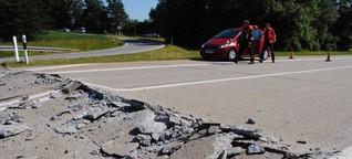 Gebrochene Autobahnen sind kaum zu verhindern