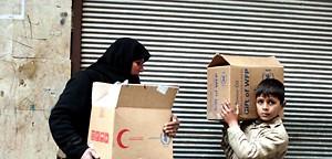 Helfer in Syrien im Kreuzfeuer