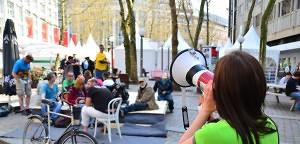 Occupy Festival: Friedliche Übergabe | Mittendrin | Das Nachrichtenmagazin für Hamburg-Mitte