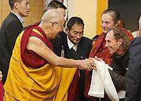 Dharamsala: Frühstück mit dem Dalai Lama