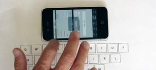 Vibrative Virtual Keyboard