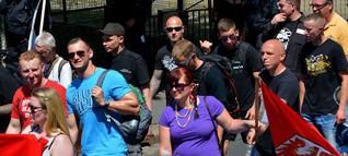 Nazi-Demonstrationen : Brauner Großaufzug in Neuruppin