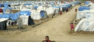 Flüchtlinge im Irak: Alles hat sehr klein begonnen