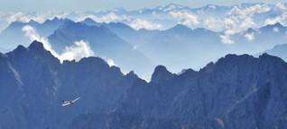 Weniger Wasser – Klimawandel in den Alpen