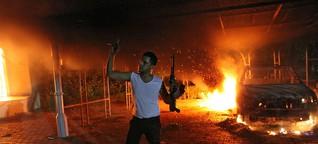 Libyen: Mühsame Suche nach den Hintermännern