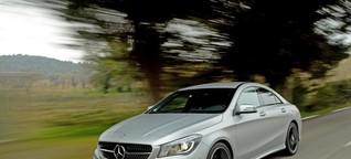 Fahrbericht Mercedes CLA - Nur ein bisschen unvernünftig