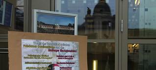 Potsdam - Symposium zur Garnisonkirche und Protest gegen die Garnisonkirche