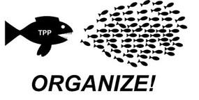 Widerstand gegen das Pazifische Freihandelsabkommen (TPP)