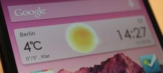 Nexus 5 im Test: Nicht perfekt, aber nah dran