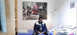 Jugendliche Flüchtlinge Amadou kennt den HSV