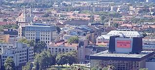 """Vilnius: """"Jeder hat das Recht zu lieben und einmalig zu sein"""""""