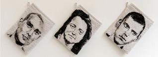 Ist das Kunst? - Galerie in Essen verkauft Waschlappen mit NSU-Portraits