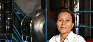 Wie eine Frau in Kambodscha anderen hilft