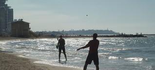 Tel Aviv: Aus dem Nachtleben auf den Strand