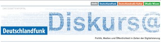 """""""Diskurs@Deutschlandfunk"""" Konzept, Redaktionslseitung"""