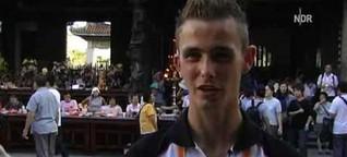 Gehörloser deutscher Läufer kämpft in Taiwan
