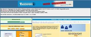 Tagespost Speyer Archiv von 07/1999 bis 12/2002
