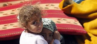 Gefangen im Niemandsland zwischen Libanon und Syrien