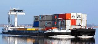 Reise per Containerschiff: Auf der Blechkisten-Route über die Weser