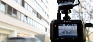 Auto-Videos von Dränglern und kuriosen Unfällen