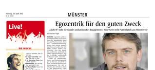 Plattenlabels aus Münster // Print-Serie