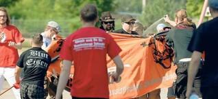 Rechtsextreme Partei: Für die NPD treten Gewalttäter an