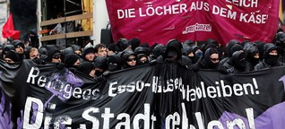 """""""Abschaum"""" statt Demonstranten"""
