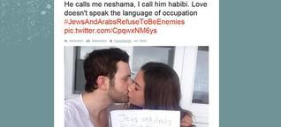 Gaza-Konflikt: Twitter-Hashtag für die Liebe