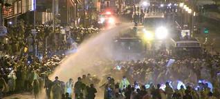 Polizeigewalt gegen Atomgegner in Taiwan