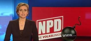 NPD-Spitzenkandidat soll Tipps zum Bombenbau gegeben haben