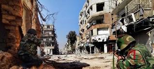 Alltag in Syrien: Damaskus wird brennen - FAZ.NET