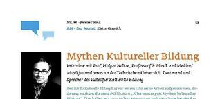 Mythen Kultureller Bildung
