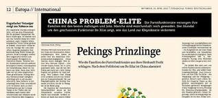 Pekings Prinzlinge
