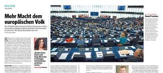Mehr Macht dem europäischen Volk, Format