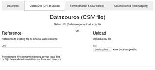 Grosse CSV Tabellen strukturiert indexieren, sichten, durchsuchen und filtern
