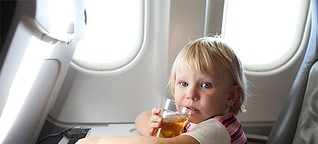 Fliegen mit Baby oder Kleinkind