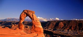 Utah: gewaltige Felsformationen und sanfte Farbspiele