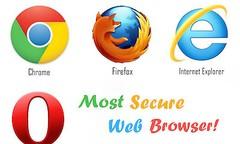 Welcher Browser ist der sicherste?