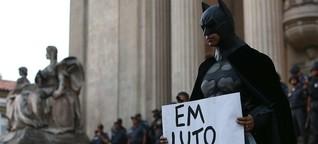 """""""Nicht unsere WM!"""": Der Batman von Rio"""
