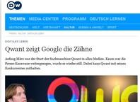Qwant zeigt Google die Zähne