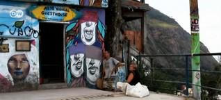 Hostel in der Favela: Traumhafter Ausblick, wackelige Wände | 10.06.2014