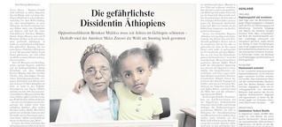 Die gefährlichste Dissidentin Äthiopiens