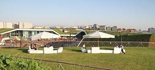 Der Park auf dem Dach