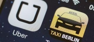 Uber gegen Taxi: Wie real ist der Kampf?